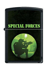 Zippo 7212 special forces black matte RARE & DISCONTINUED Lighter