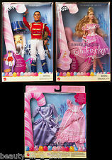 Sugarplum Princess Barbie Doll Prince Eric Ken Doll Nutcracker Fashion Gift Set""