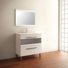 Conjunto de cuarto de baño mueble CALA blanco 80 cm