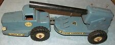 1950s Nylint Naval Defense Coastal Unit Missile Launcher Metal Toy Truck