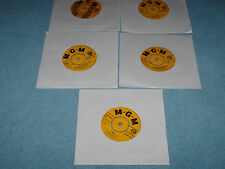 5 x connie francis ep records including everybody`s somebody`s fool, lipstick on