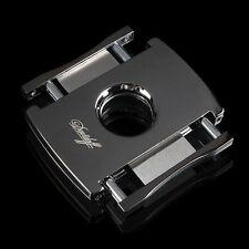 Davidoff High-Tech Black Stainless Steel Track Slide Cigar Cutter Cohiba
