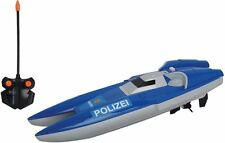 Dickie Toys RC Polizei Boot RTR 2-Kanal Funkfernsteuerung NEU