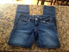 American Eagle Stretch Skinny Jeans Size 4 In Excellent Pre-owned Condition!
