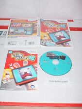 RAYMAN RAVING RABBIDS TV PARTY game w/ Manual for Nintendo Wii system