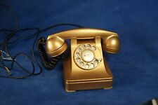 RARE GOLD Vintage 1940's Western Electric F1 W Hand set 302 Rotary Phone