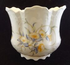 Vintage (1985-1987) Aynsley JUST ORCHIDS crown shaped planter England