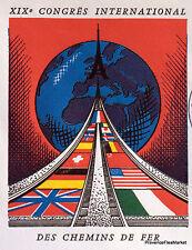 CHEMIN DE FER Yt1488  FRANCE  FDC Enveloppe Lettre Premier jour