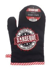 Born To BBQ / Barbeque Oven Mitt / Glove