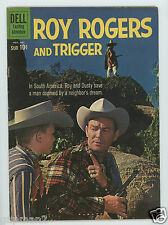 Vintage 1960 Dell Exciting Adventure Comic Roy Rogers And Trigger #140
