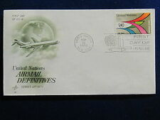 United Nations, 18 Cent, Air Mail Issue, Artcraft, FDC, 1974