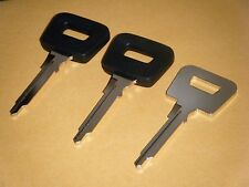 PORSCHE 911, 912, 914  (3) KEY BLANKS 1970 - 1998 PW1P  ITALIN  MADE