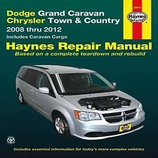 Dodge Grand Caravan & Chrysler Town & Country: 2008 thru 2012 Includes Caravan C