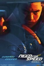 DOMINIC COOPER - Signed 12x8 Photograph - FILM - NEED FOR SPEED