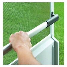 Camco Screen Door Cross Push Exit Bar RV Motorhome Camper Adjustable Protection