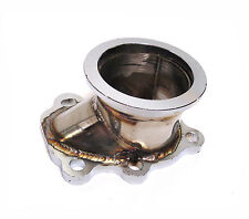 "T3 Turbo Flange to 2.5"" / 2.5 Inch V-Band Adapter For Exhaust Elbow downpipe"