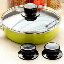2Pcs Poignée Bouton Rechange Pr Marmite Couvercle Casserole Pot Cookware Cuisine