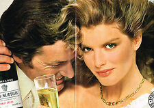 PUBLICITE  1978   PIPER-HEIDSIECK  champagne (2 pages)