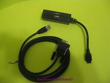 VERIFONE PC PROGRAMMING CABLE 26264-05 AND MULTI PORT DONGLE 24799-01 KIT