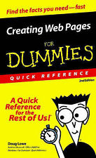 Good, Creating Web Pages for Dummies Quick Reference, Lowe, Doug, Book