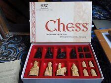 Studio Anne Carlton Isle of Lewis Chess Set