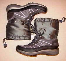 "NEW Ladies Wave Walk By Clark's ""Wave Peak""Gore-Tex Grey Ankle Warm Boots UK 4D."