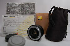 Mint Nikon TC-17E II 1.7X AF-S E II Lens w/Soft Pouch in Box from Japan