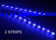 """FORD  BLUE 12"""" 5050 SMD LED STRIPS  NEW  2 STRIPS TOTAL OF 24 LEDS"""