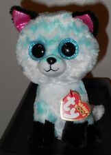 "Ty Beanie Boos - PIPER the 6"" Claires Exclusive Fox ~ 2017 BRAND NEW ~ IN HAND"
