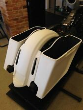 HARLEY-DAVIDSON BAGGER 4.5' STRETCHED SADDLEBAGS ALL TOURING FLHX FLHTR FLH