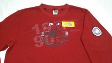 Vtg LG North Face Trans Antarctica 1990 Expedition Spellout Red Waffle Thermal