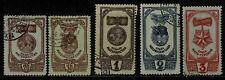 1945 Russia (ordini & medaglie della maternità) TIMBRO (F. Usato) s.g.1117, 1118,1120-1122