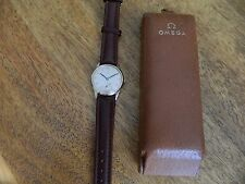 Omega  dennison cased 9 ct watch [ fully overhauled ]