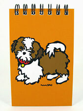 Shih Tzu Dog Paper Spiral Memo Notepad Book 40 Pages 2×4 Inches