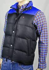 Tommy Hilfiger XX-Large XXL Black Blue Ski Down Vest Coat Puffer NWT $170