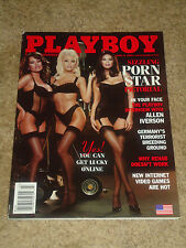 "Playboy Magazine March 2002 ""Cover: Sizzling Porn Sisters"" ES,WE"