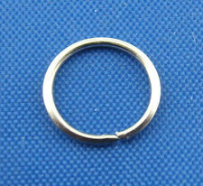 600PCs Silver Tone Open Jump Rings 8mm Dia. SP0009