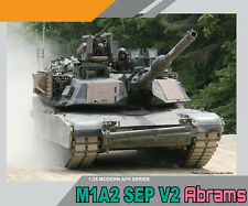 DRAGON 3556 1/35 U.S M1A2 SEP V2 Abrams Tank