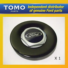 Genuine New Ford Fiesta ST500 PANTHER BLACK Alloy Wheel Centre Cap 1546504 x1