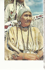 Indian Beadmaker   Montana   Postcard 81116
