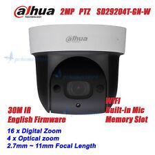 Dahua SD29204T-GN-W 2MP Wireless Built-in Mic Network Mini IR PTZ Dome Camera