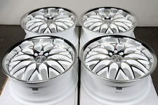 17 4x100 4x114.3 Rims White Fits Honda Civic Corolla Accord Cabrio Jetta Wheels