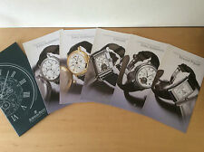 Booklets Folletos AUDEMARS PIGUET - Jules Audemars - Edward Piguet - Canapé ESP