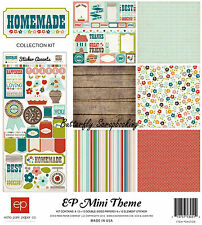 Home Cooking Homemade Collection 12X12 Scrapbooking Kit Echo Park Paper NEW