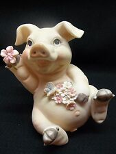 Animal Pig Flower Bank #188