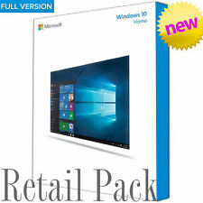 Genuine Microsoft Windows 10 Full Version 32/64bit USB & License Retail Pack