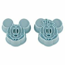 MICKEY & MINNIE MOUSE COOKIE CUTTERS FOR BENTO LUNCH BOX – JAPANESE KAWAII STYLE