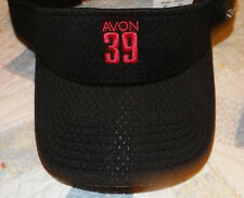 LADIES' BLACK/PINK VISOR ~ REEBOK/AVON 39 THE WALK TO END BREAST CANCER NWT HTF