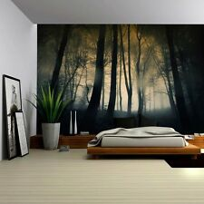 Dark and Ominous Forest - Wall Mural, Removable Sticker, Home Decor - 100x144