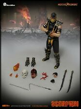 "Worldbox World Box 1/6 Scale 12"" Mortal Kombat Scorpion Action Figure"